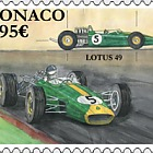 Legendary Race Cars - Lotus 49 - (Stamp CTO)