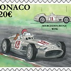 Legendary Race Cars - Mercedes Benz W196 - (Stamp CTO)