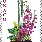 International Bouquet Competition - (Stamp CTO)