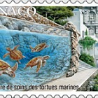 Care Center for Sea Turtles - (Stamp CTO)