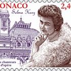 Opera Singer -Selma Kurz - (Stamp CTO)