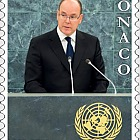 25th Anniversary of Monaco's membership to the United Nations - (Set CTO)