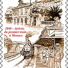150 Years Since the Arrival of the First Train in Monaco - (Set CTO)