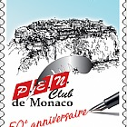 50 Years of the P.E.N. Club of Monaco - (Set CTO)