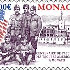 Cetenary of us Troops' Convazlescence in Monaco