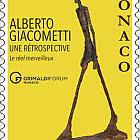 阿尔贝托·贾科梅蒂在格里马尔迪论坛上的展览
