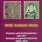Handbuch Platten und Plattenfehler auf den Kreuzerausgaben Bayerns 1849-1875