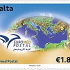 Euromed Postal - The Mediterranean Sea