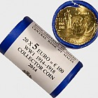 €5 First World War Centenary - Brass Coin (Roll of 20)