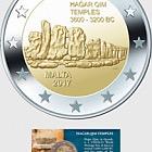Hagar Qim Temples €2 Coin Card