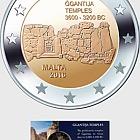Ġgantija Temples €2 Coin Card