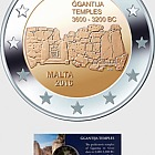 Ggantija Temples €2 Coin Card