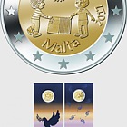 Peace €2 Coin Card