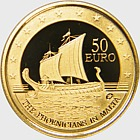 Phoenicians in Malta - Gold Coin
