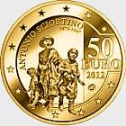 European Artist - Antonio Sciortino - Gold Coin