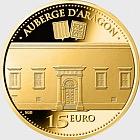 Auberge d'Aragon - Gold Coin (24 CRT)