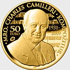 Maestro Charles Camilleri - Gold Coin