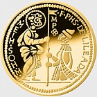 Smallest Gold Coin - Zecchino (24 CRT)