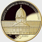 Iron and Glass - Argotti Botanic Garden Conservatory - Gold Coin