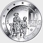 European Artist - Antonio Sciortino - Silver Coin