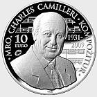 Maestro Charles Camilleri - Silver Coin