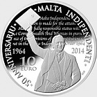 50th Anniversary of Malta's Independence - Silver Coin