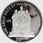 450th Anniversary of the Great Siege of Malta - Silver Coin