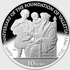 450th anniversary of the foundation of Valletta - Silver Coin