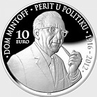 100th Anniversary of the birth of Dom Mintoff - Silver Coin
