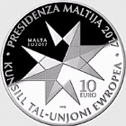 Malta's Presidency of the European Council of the European Union  - Silver Coin