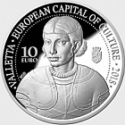 Valletta European Capital of Culture 2018 - Silver Coin