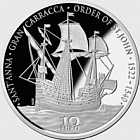 Renaissance - The Gran Carracca of the Order of St John - Silver Coin