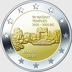 Ta'Hagrat €2 Commemorative Coin Card