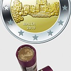 Ta'Hagrat  €2 Commemorative Coin Roll ( x25 Coins)