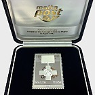 Collectible Stamp Ingots - Silver Stamp Ingot George Cross 2012