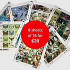 Christmas Offer - Pack of 8 sheets of 16 for €20
