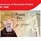 50th Anniversary Of The Death Of Padre Pio 1887-1968