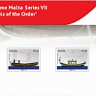 Maritime Malta Series VII 'Vessels of the Order