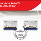 Maritime Malta Series VII 'Vessels of the Order - SF with Set