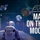 50th Anniversary Man On The Moon