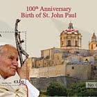 100e Anniversaire De La Naissance De Saint-Jean-Paul