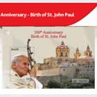 100th Anniversary  Birth Of St. John Paul