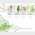 Botanical Gardens in the Netherlands - (FDC 749A)