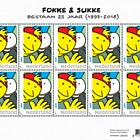 Fokke & Sukke 25th Anniversary (1993-2018) Personalised Stamps