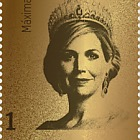 Golden Stamp Queen Maxima