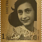 Golden Stamp - Anne Frank 1945-2020