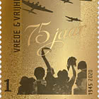 Golden Stamp - Peace & Freedom 1945-2020