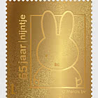 Golden Stamp - Miffy's 65th Birthday