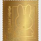 Timbro d'oro - 65 ° Compleanno di Miffy