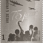 Silver Stamp - Peace & Freedom 1945-2020
